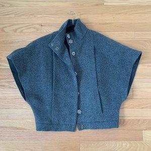 NAF NAF grey cape jacket